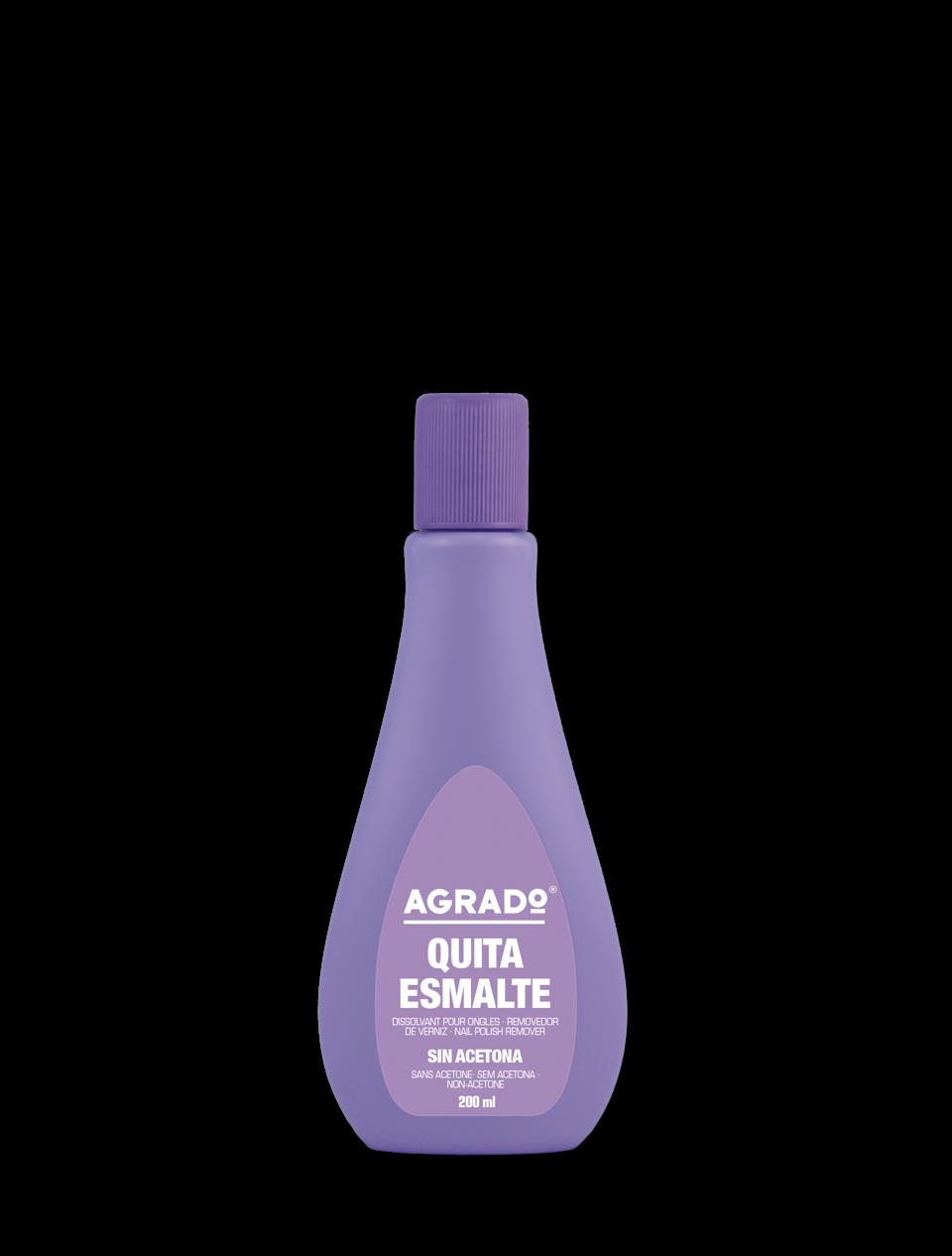 Non acetone nail polish remover | Agrado Cosmetic