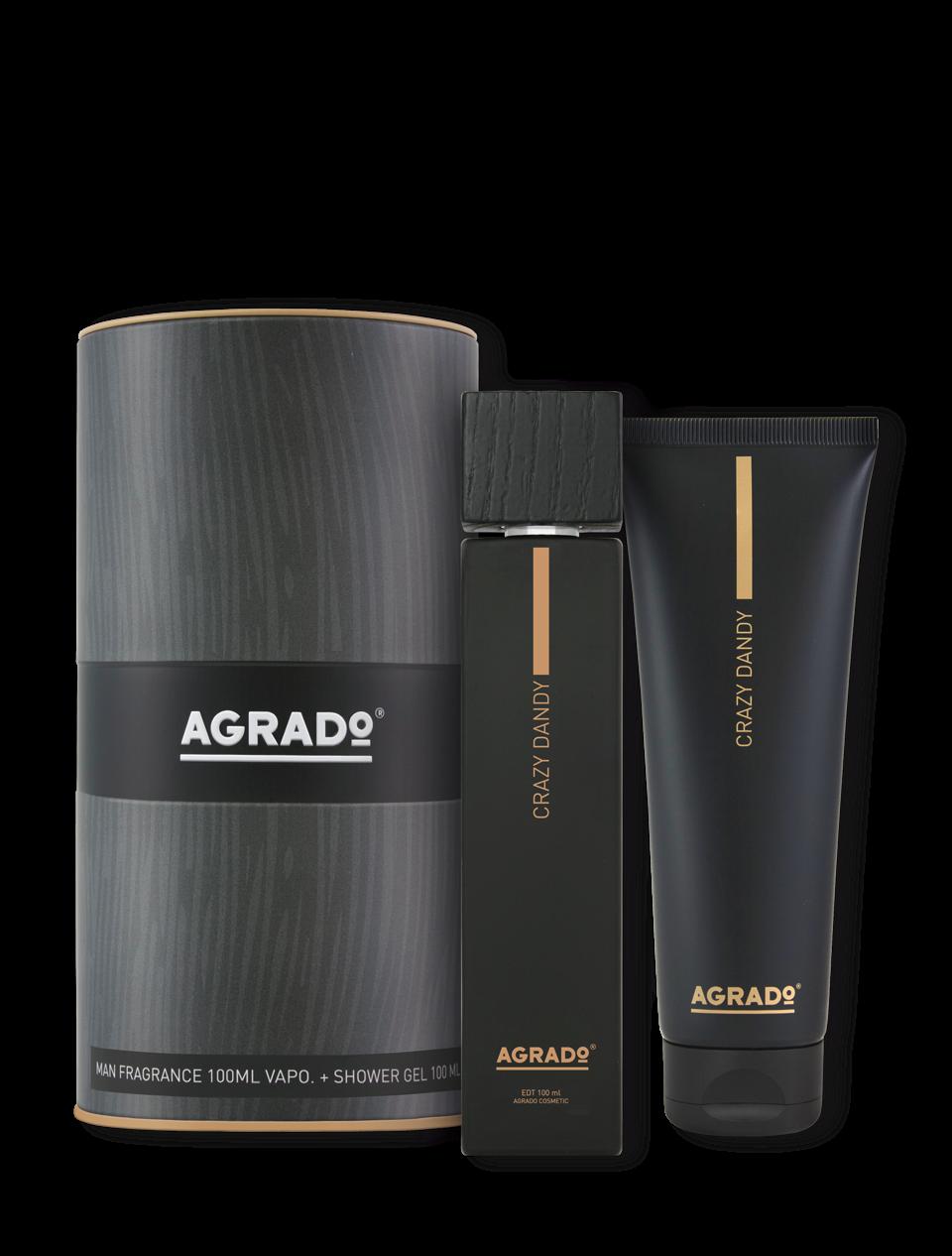 Coffret cadeau edt+gel man lost paradise   Agrado Cosmetic