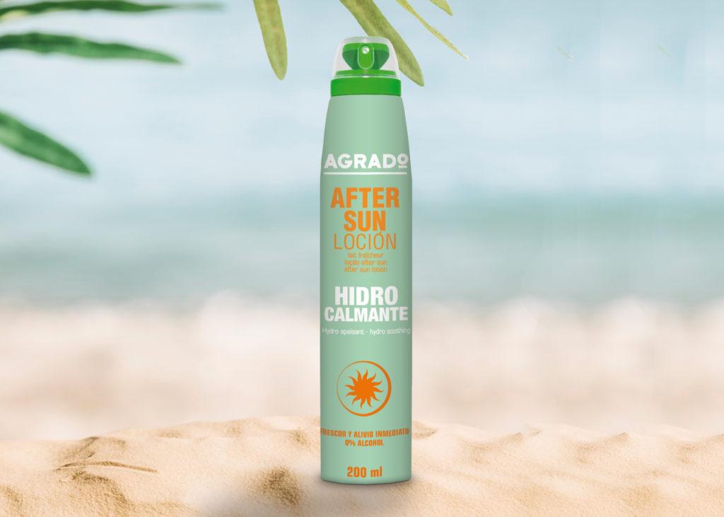 producto- after sun efecto hidrocalmante